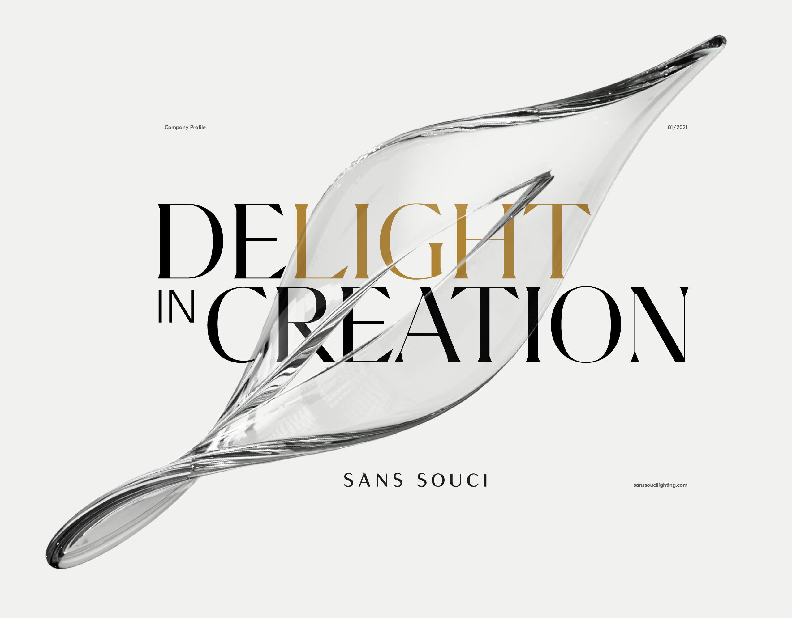 Sans Souci Lighting Visual Identity